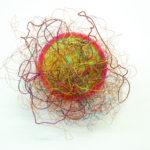 Chaos - 2016 - plastic, metal wire - 33x34x18cm