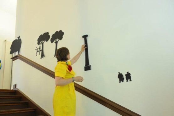 Licht und Schatten, Schere, Stift 2010