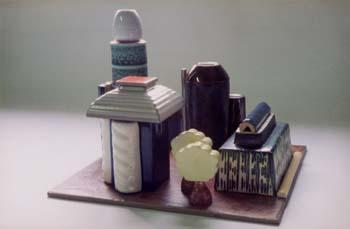 Aangezicht Van Een Stad –  2002 – Ceramic