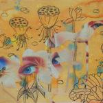 Be my lotus 2 - 2015- mixed media - 39x27cm