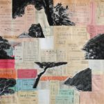 Biglietto 2011 - collage - 44x47cm