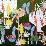 Botanische Tuin 2 2005 - Mixed Media on canvas - 40x50 cm