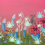 Botanische Tuin 3 2005 - Mixed Media on canvas - 40x50 cm