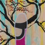 Footprint -2015 - mixed media - 39x27 cm