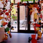 Proef de kunst! Neem een hap! 2007 - Installation, candy and plastic…