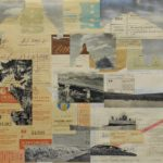 Russische landschap 2011 - collage - 44x53cm