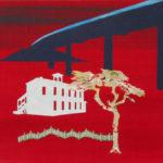 Snelweg 2005 - Mixed Media on canvas - 40x50 cm