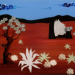 Woestijn 2007 - Mixed Media on canvas - 70x100 cm