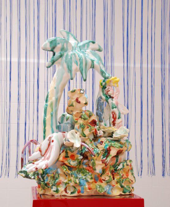 Paradijs 2018 – ceramics, glaze –