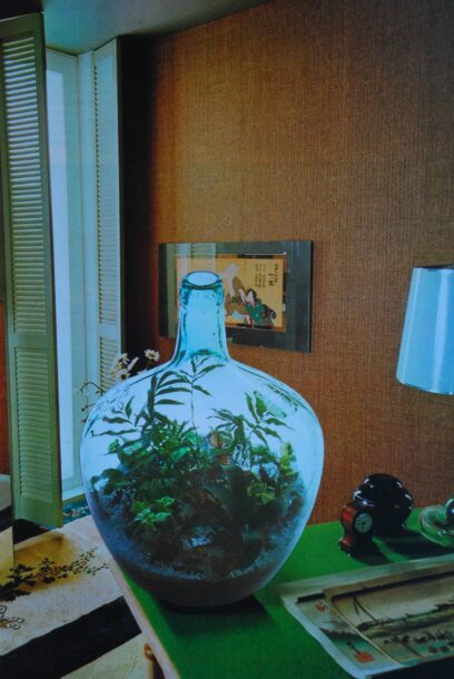 Interieur met kamerplant 2 2011 – photograph (collage) -90x60xm